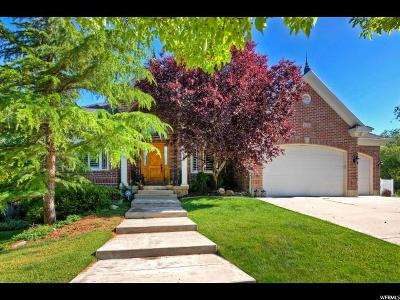 South Jordan Single Family Home Under Contract: 1202 W Park Palisade Dr