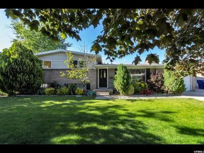 Cottonwood Heights Single Family Home Backup: 2237 E 7150 S