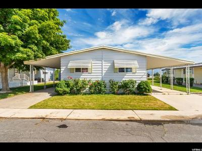 Roy Single Family Home For Sale: 3800 S 1900 W #212