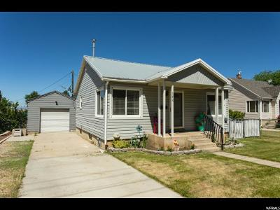 Brigham City Single Family Home Under Contract: 146 S 500 W