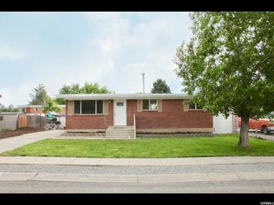 West Jordan Single Family Home For Sale: 2874 W 7550 S