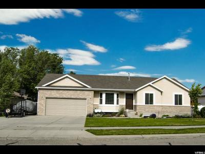 West Jordan Single Family Home For Sale: 8891 S Olive Grove Way
