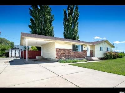 Tremonton Single Family Home Backup: 887 S 150 W