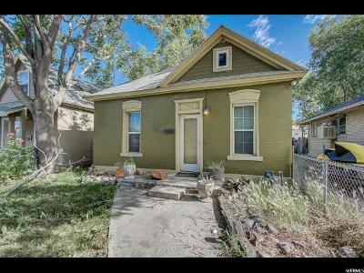Salt Lake City Single Family Home Under Contract: 768 W 300 N