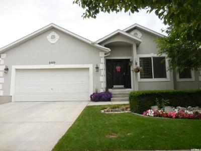 Lehi Single Family Home For Sale: 2570 W 1600 N