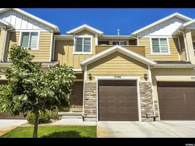 Lehi Townhouse For Sale: 3796 N Prairie Grass Dr W