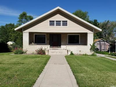 Brigham City Single Family Home For Sale: 113 N 300 W