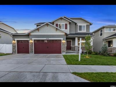 Herriman Single Family Home Under Contract: 5478 W Iron King Dr