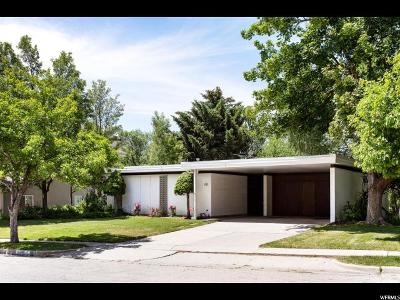 Salt Lake City Single Family Home For Sale: 1931 E Browning Ave