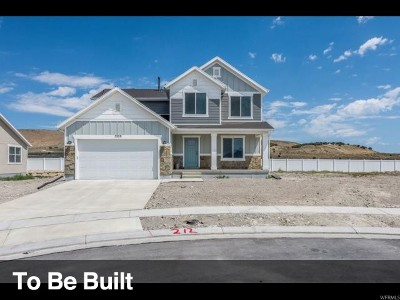 Eagle Mountain Single Family Home For Sale: 9833 N Wildflower Way #101