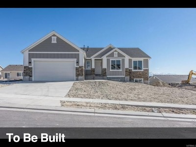 Eagle Mountain Single Family Home For Sale: 9853 N Wildflower Way E #102