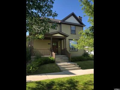 South Jordan Single Family Home For Sale: 4342 W Degray Dr