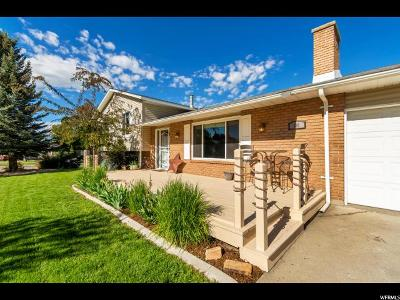 Midway Single Family Home For Sale: 190 S 200 E