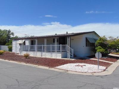 Roy Single Family Home For Sale: 3800 S 1900 W #282