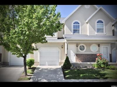 Lehi Townhouse For Sale: 1254 W Bridalwood Loop N