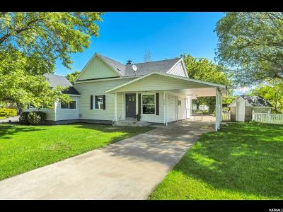 Lehi Single Family Home For Sale: 1268 N Trinnaman Ln W