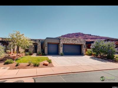 St. George Single Family Home For Sale: 2139 W Cougar Rock #150