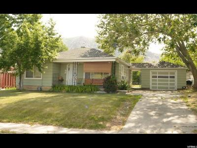 Brigham City Single Family Home For Sale: 444 N 200 W