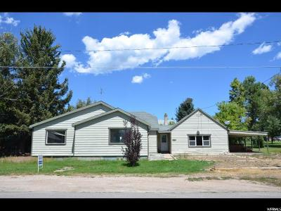 Midway Single Family Home For Sale: 184 W 100 S