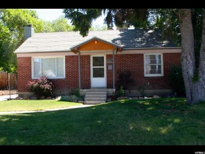 Salt Lake City Single Family Home For Sale: 2867 S Lakeview Dr E