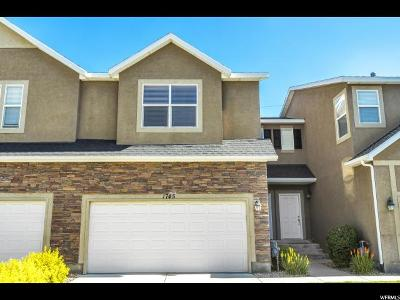 Spanish Fork Townhouse For Sale: 1745 S 920 E