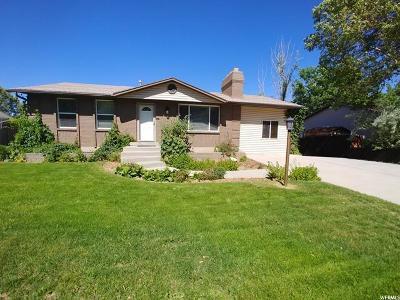 Sandy Single Family Home For Sale: 11750 S 1000 E