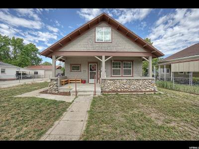 Brigham City Single Family Home For Sale: 37 N 200 W