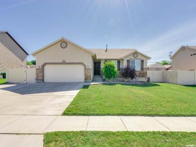 Roy Single Family Home Under Contract: 5424 S 2450 W