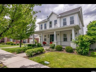 South Jordan Single Family Home Under Contract: 4466 W Enid