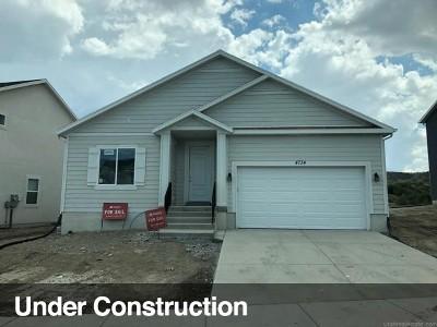 Eagle Mountain Single Family Home For Sale: 4734 E Silver Ridge Rd #1721