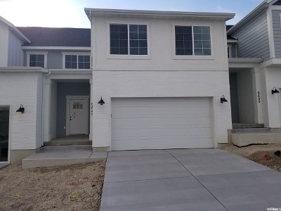 Eagle Mountain Townhouse For Sale: 9649 N Aaron Ave E