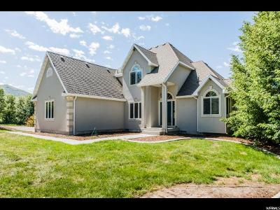 Paradise Single Family Home Under Contract: 8515 S 1200 E