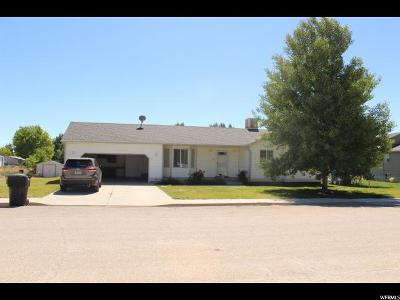 Castle Dale Single Family Home For Sale: 740 N 375 (Valley View Dr) W