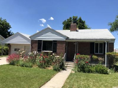 Murray Single Family Home For Sale: 5332 S Montrose St E
