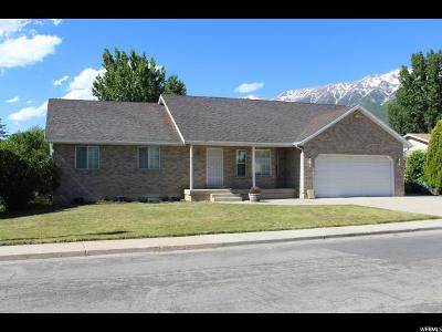 Orem Single Family Home For Sale: 734 W 1700 N
