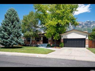 Orem Single Family Home Under Contract: 31 S 860 E