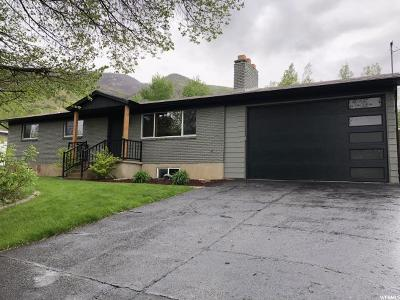 Fruit Heights Single Family Home Under Contract: 593 S Mountain Rd E