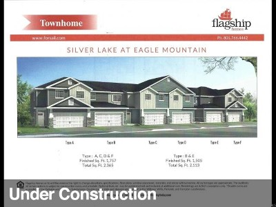 Eagle Mountain Townhouse For Sale: 7232 N Clover Patch Way #1948