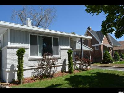 Springville Single Family Home Under Contract: 66 N 100 E