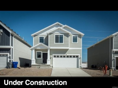 Herriman Single Family Home Under Contract: 14876 S Messi St #458