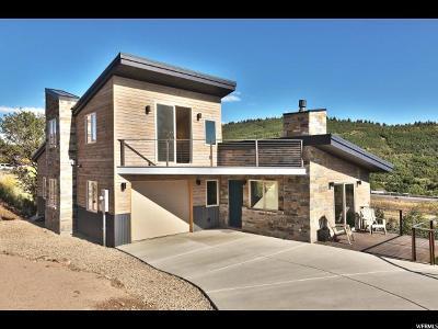 Park City Single Family Home For Sale: 335 Crestview Dr