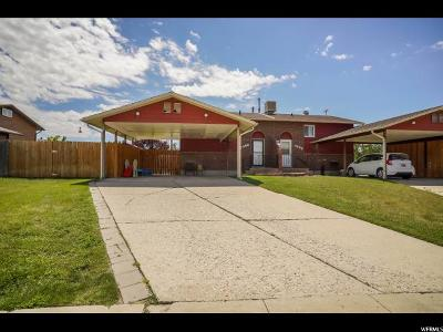 Roy Single Family Home Under Contract: 3683 W 4650 S