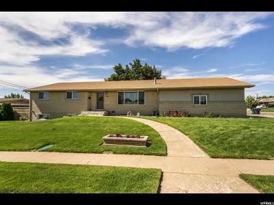 Roy Single Family Home For Sale: 2008 W 5950 S