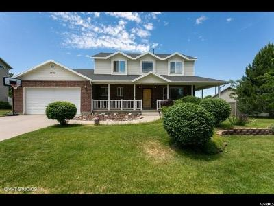 South Weber Single Family Home For Sale: 7769 S 2300 E