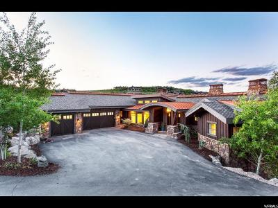 Park City Single Family Home For Sale: 7832 N Promontory Ranch Rd