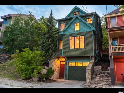 Park City Single Family Home For Sale: 459 Woodside Ave #11