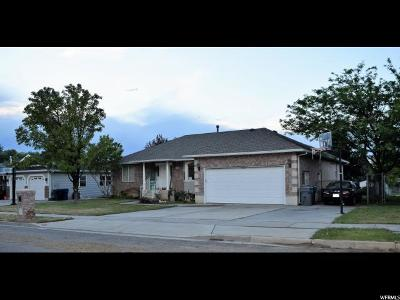 Single Family Home For Sale: 726 W 2600 S