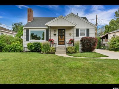 Salt Lake City UT Single Family Home For Sale: $533,000