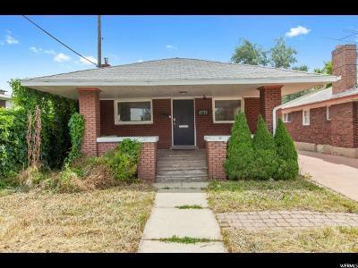 Salt Lake City UT Single Family Home For Sale: $287,990