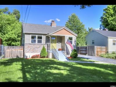 Salt Lake City UT Single Family Home For Sale: $389,900